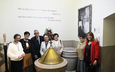 Pila Bautismal de Francisco Palau en Aitona