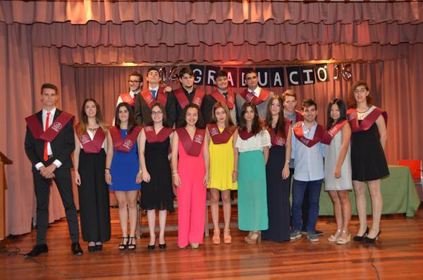 Graduación 2n de CF Amnistrativo en las Carmelitas de Tarragona