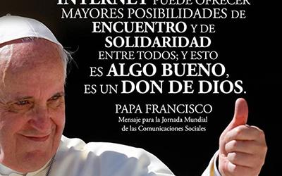 Missatge del papa Francesc per a la 51 Jornada Mundial de les comunicacions socials, que se celebra el 28 de maig