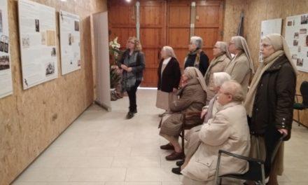 Inauguración de la exposición dedicada a nuestra presencia en El Vendrell