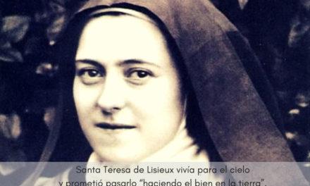 """Día 1 de octubre. Fiesta de Santa Teresa de Lisieux. """"En el corazón de la Iglesia yo seré el amor"""""""
