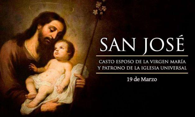 19 de marzo: Solemnidad de San José